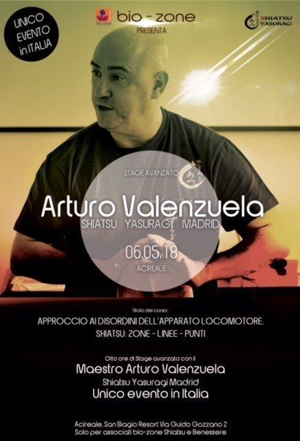 Arturo Valenzuela Shiatsu Italia