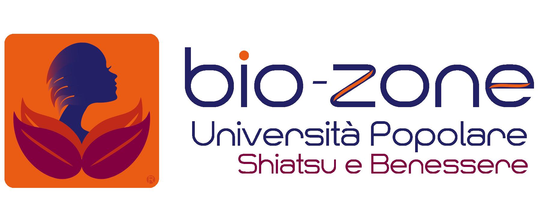logo bio-zone, scuola di shiatsu internazionale