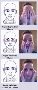 massaggio contorno occhi