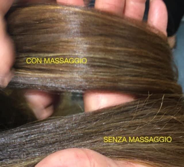 Massaggio capelli